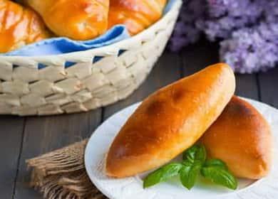 Пирожки с рисом и яйцом: пошаговый рецепт с фото