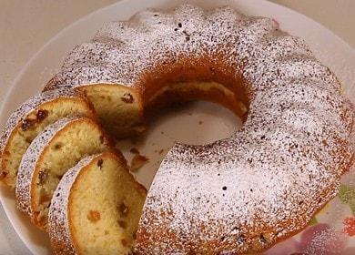 Готовим ароматный постный кекс по пошаговому рецепту с фото.