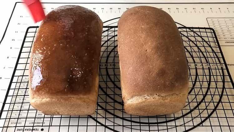 пшенично ржаной хлеб готов