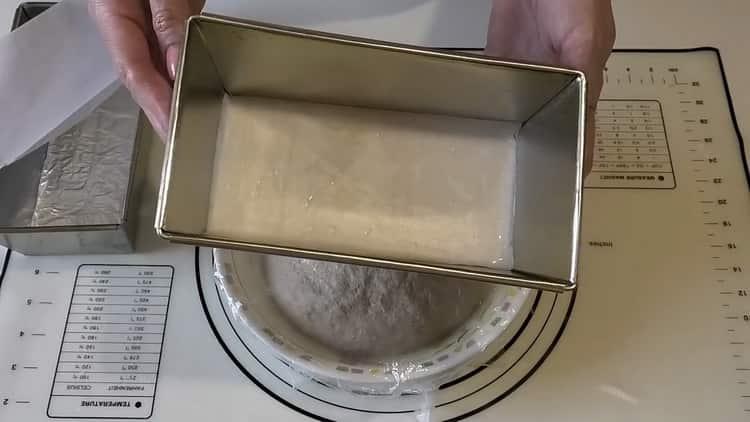 Для приготовления пшенично -ржаного хлеба подготовьте форму