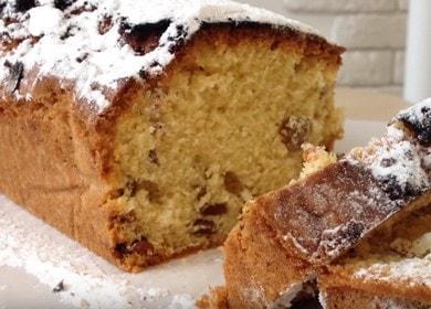 Очень вкусный рецепт кекса с изюмом в духовке: готовим с пошаговыми фото.