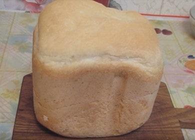 Рецепт вкусного белого хлеба — выпекаем в хлебопечке Мулинекс