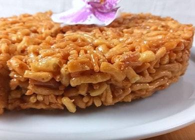 Рецепт восточной сладости Чак-чак с медом