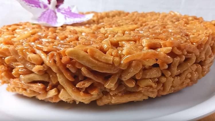 Опробуйте этот замечательный рецепт чак-чака с медом.