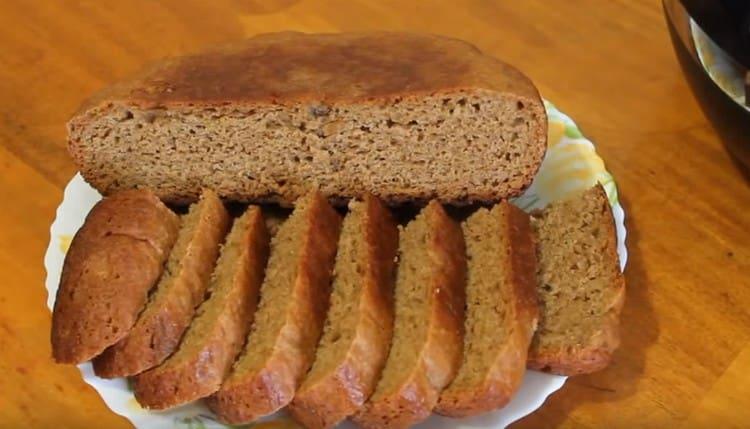 Как видите, приготовить вкусный ржаной хлеб в мультиварке вполне реально.