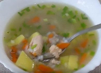 Готовим ароматный суп из горбуши по рецепту с фото.