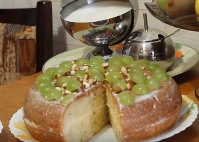Готовим нежный творожный кекс в мультиварке по пошаговому рецепту с фото.