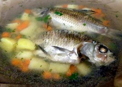 Уха из карася — сытный наваристый рыбный суп