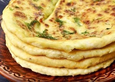 Быстрое хачапури на кефире с сыром на сковороде — очень вкусно