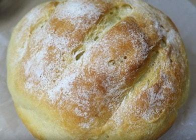 Самый вкусный домашний хлеб на сухих дрожжах — выпекаем в духовке