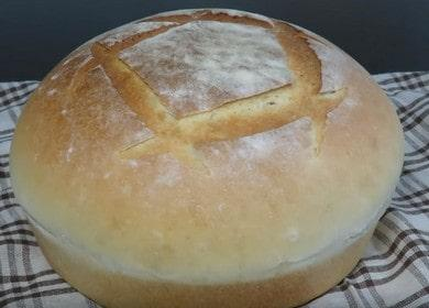 Выпекаем домашний хлеб в духовке: бысрый и простой пошаговый рецепт.