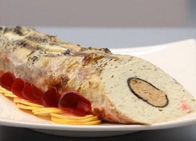 Вксная и красивая фаршированная щука в духовке: пошаговый рецепт с фото.