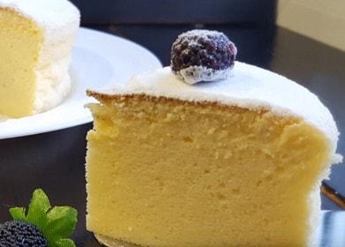 Японский чизкейк — подробный рецепт вкусного десерта