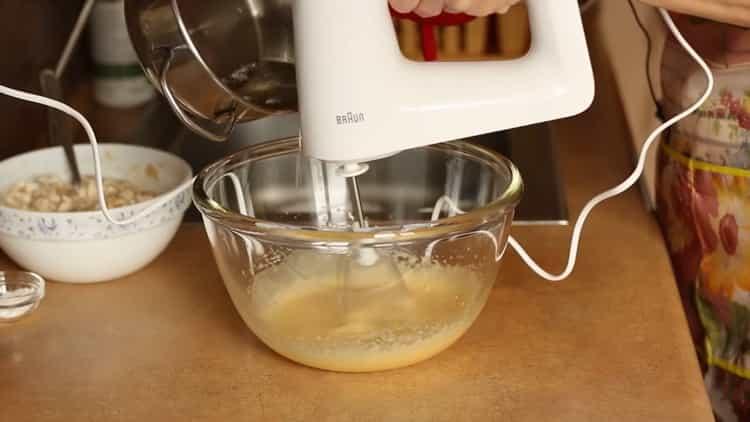 Для приготовления бананового чизкейка приготовьте насинку