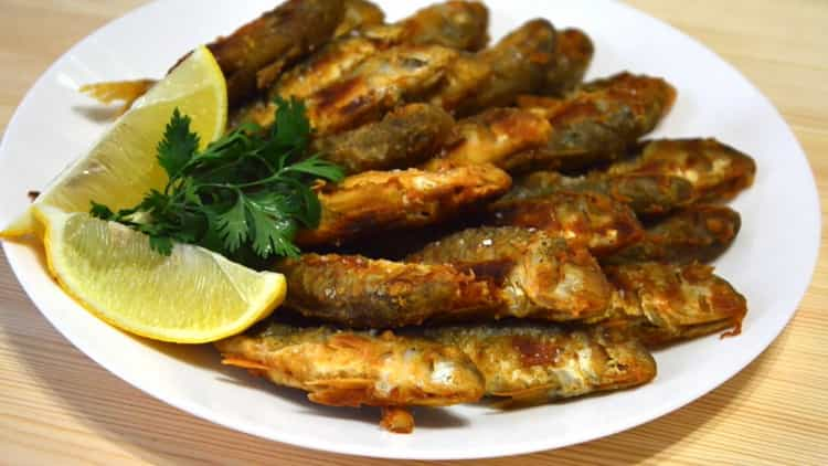 Барабулька: пошаговый рецепт приготовления с фото