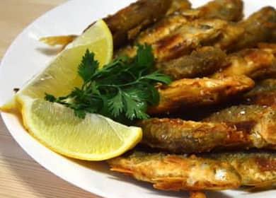 Барабулька (султанка) жареная — рецепт очень вкусной и хрустящей рыбы