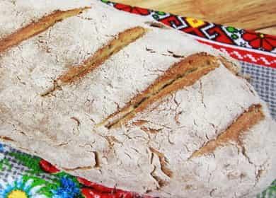 Бездрожжевой хлеб в духовке по пошаговому рецепту с фото