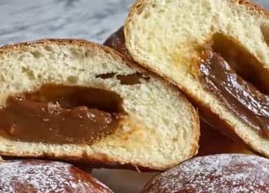 Как научиться готовить вкусные булочки с вареной сгущенкой