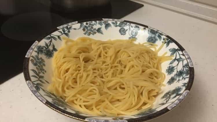 Как сварить спагетти по пошаговому рецепту с фото