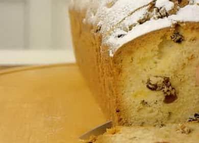 Кекс Столичный с изюмом по ГОСТу по пошаговому рецепту с фото