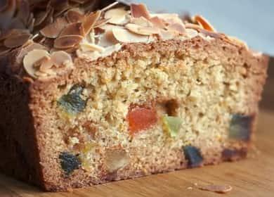 Кекс с цукатами — вкусная домашняя выпечка