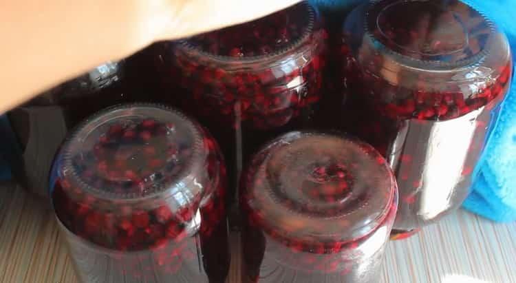 Компот из черной смородины на зиму по пошаговому рецепту с фото