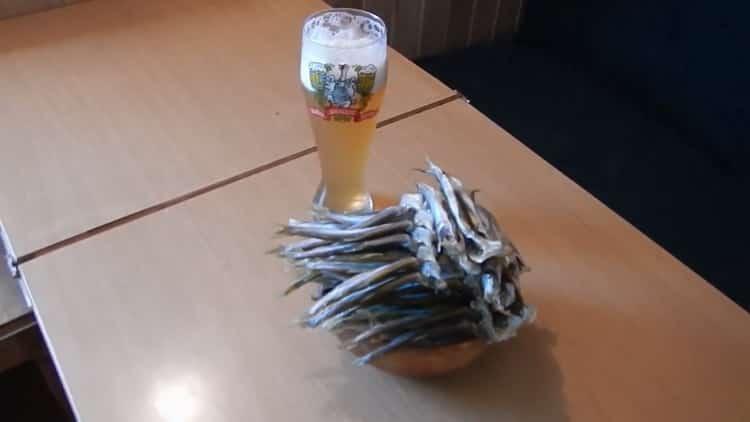 Корюшка вяленая по пошаговому рецепту с фото