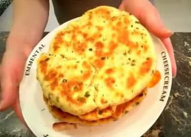 Как научиться готовить вкусные сырные лепешки на кефире