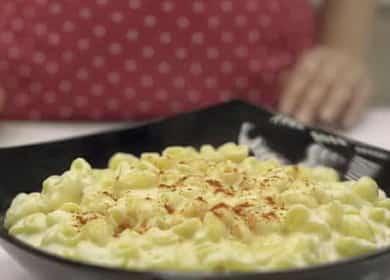 Макароны с сыром на сковороде по пошаговому рецепту с фото