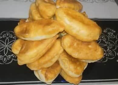 Пирожки с картошкой: пошаговый рецепт с фото