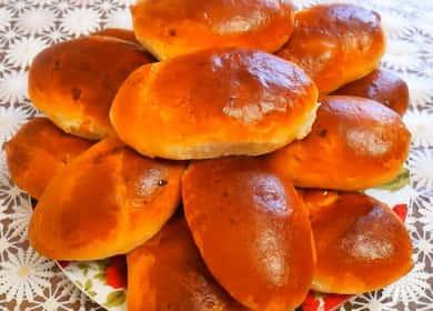 Пирожки с тыквой: пошаговый рецепт с фото