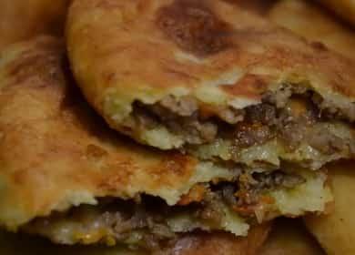 Пирожки с фаршем: пошаговый рецепт с фото