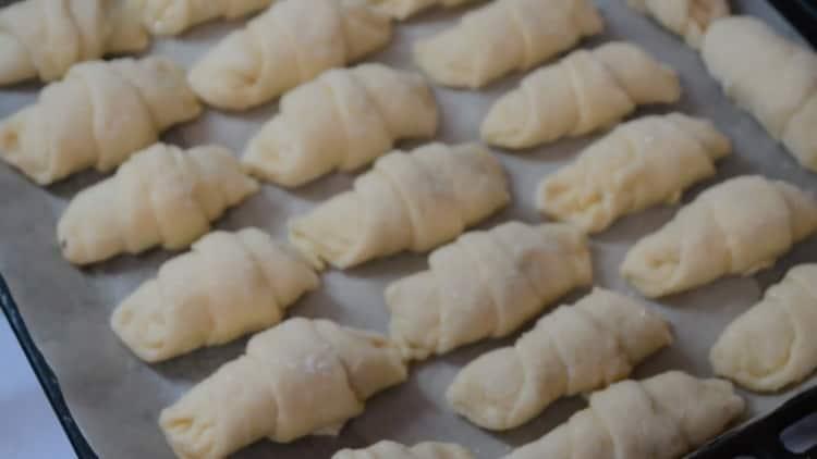 Рецепт рогаликов на маргарине - просто объедение