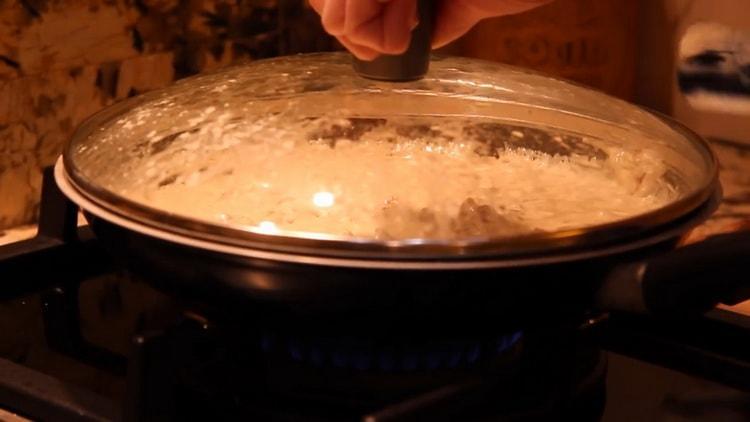 Сливочный соус для спагетти по пошаговому рецепту с фото