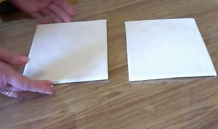 Как готовится слойка с сахаром из слоеного теста