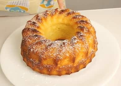 Рецепт приготовления вкусного творожного кекса в духовке