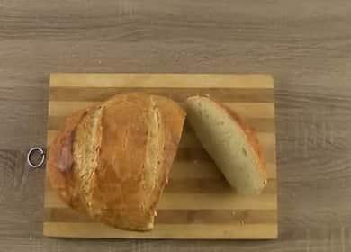 Хлеб без замеса - самый простой домашний рецепт