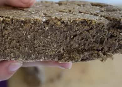 Хлеб в духовке на кефире без дрожжей по пошаговому рецепту с фото