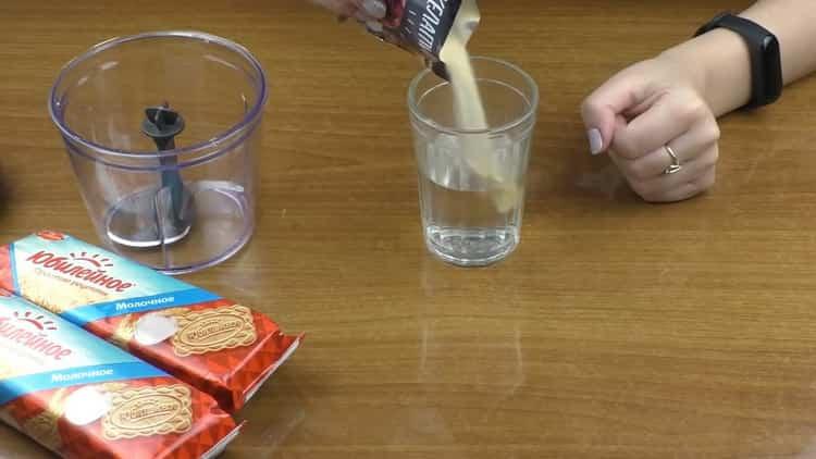 Для приготовления чизкейка без выпечки, подготовьте ингредиент