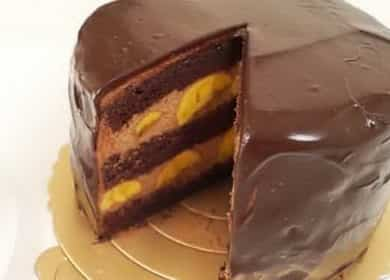 Шоколадно-банановый торт - невероятно вкусный