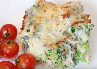 Брокколи в сливочном соусе — очень вкусно и полезно 🥦