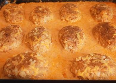 Вкусные ленивые голубцы в томатно-сметанном соусе — готовим в духовке 
