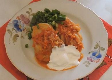 Готовим вкусные голубцы с мясом и рисом по рецепту с пошаговыми фото.