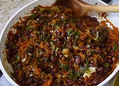 Как вкусно приготовить нежную красную фасоль на гарнир 🥣