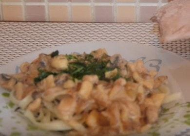 очень вкусные кальмары в сметане: готовим по пошаговому рецепту с фото и видео.