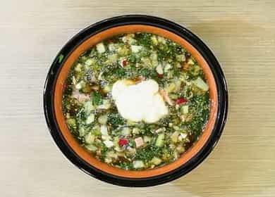 Рецепт классической окрошки с колбасой на квасе — вам непременно захочется добавки 北