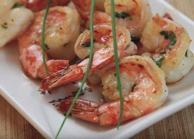Ароматные и вкусные креветки, жареные с чесноком 🦐