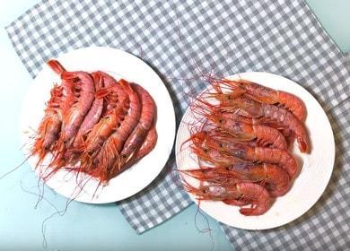 Готовим ароматные креветки на гриле по пошаговому рецепту с фото.