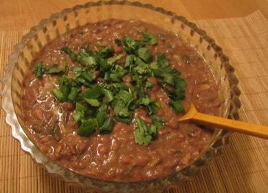 Готовим вкусное лобио из фасоли по пошаговому рецепту с фото.