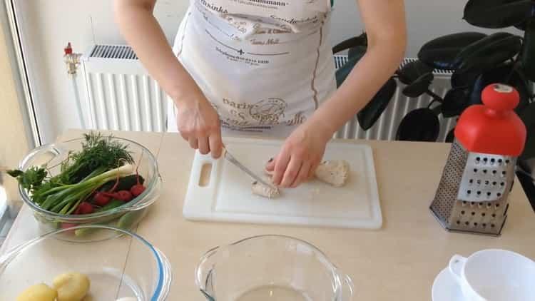 Как приготовить окрошку по простому рецепту с фото